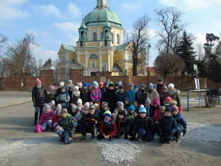 Gościliśmy uczniów z Warszawy.