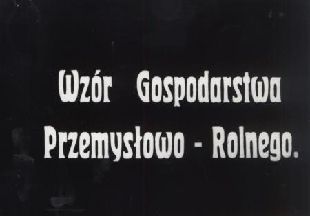 Film o Majątku Pudliszki z lat 30. XX w.