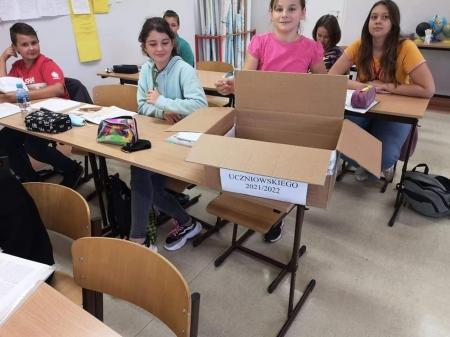Mamy w szkole nowy Samorząd Uczniowski