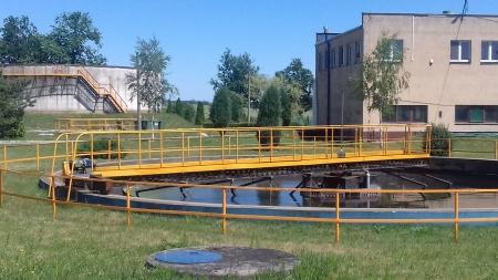 Z wizytą w oczyszczalni ścieków w Rokosowie