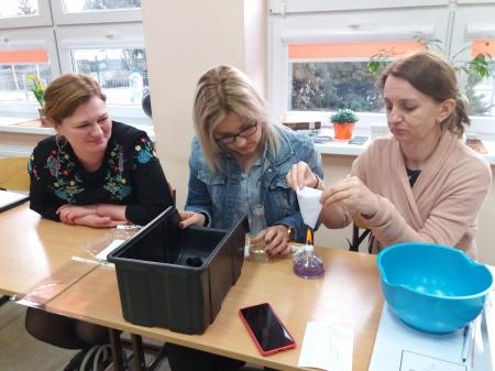 Fotorelacja ze szkoleń nauczycieli z projektu Przygoda z nauką