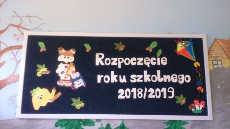 Uroczystość rozpoczęcia roku szkolnego 2018/2019