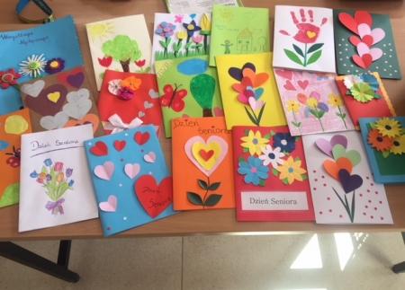 Kartka dla Seniora - wizyta w DPS w Chumiętkach