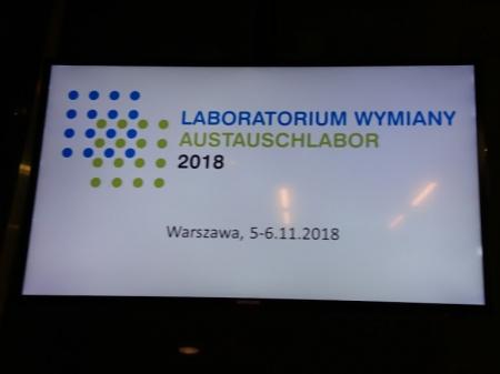 Polsko-niemiecka wymiana młodzieży z Pudliszek na kongresie w Warszawie.