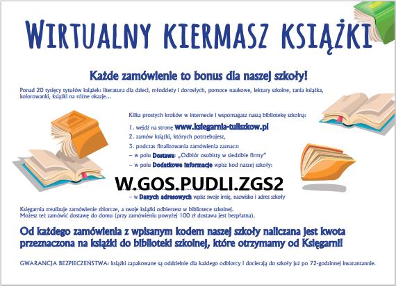 Wirtualny kiermasz książek